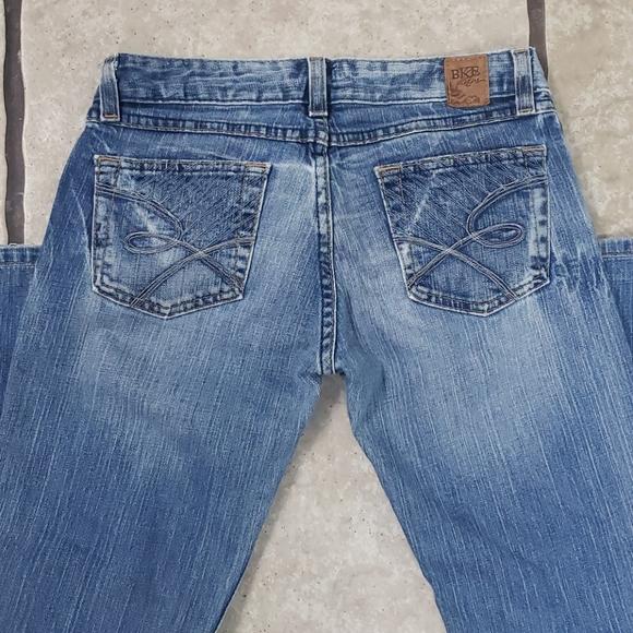 BKE Starlite 18 Stretch Boot Cut Jeans 27